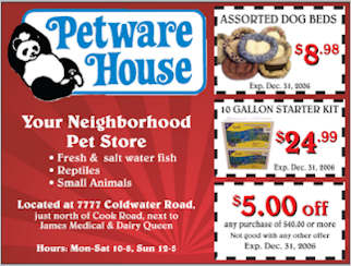 Petware House - 1 (260) 489-5151